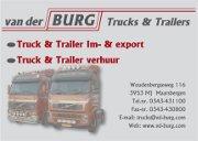 van der burg trucks en trialers