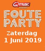 Q music foute party 1 juni